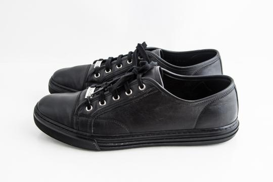 Gucci Black Miro Soft Nero Low Top Sneakers Shoes Image 2