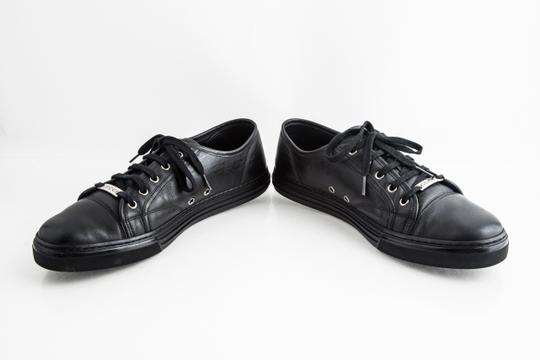Gucci Black Miro Soft Nero Low Top Sneakers Shoes Image 5