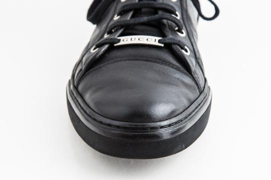 Gucci Black Miro Soft Nero Low Top Sneakers Shoes Image 7