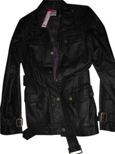 Esprit Faux Leather Black Jacket