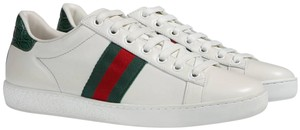 Gucci Ace Sneaker Web Web Stripe Athletic