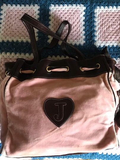 Juicy Couture Satchel in Baby Pink Image 2