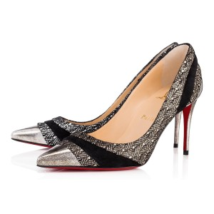 e4054b0e2ef9 Christian Louboutin Sokate Kate Pigalle Stiletto Classic black Pumps