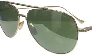 46a7c59fa0ab Dita Dita Flight 004 DRX 7804-G 12K Gold Green Flash Pilot Sunglasses