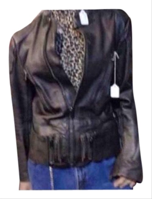 Black Leather Jacket Size 20 (Plus 1x) Black Leather Jacket Size 20 (Plus 1x) Image 1