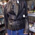 Black Leather Jacket Size 20 (Plus 1x) Black Leather Jacket Size 20 (Plus 1x) Image 5