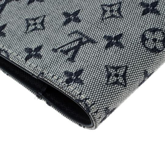 Louis Vuitton Grey Monogram Canvas Small Ring Agenda Cover Image 4