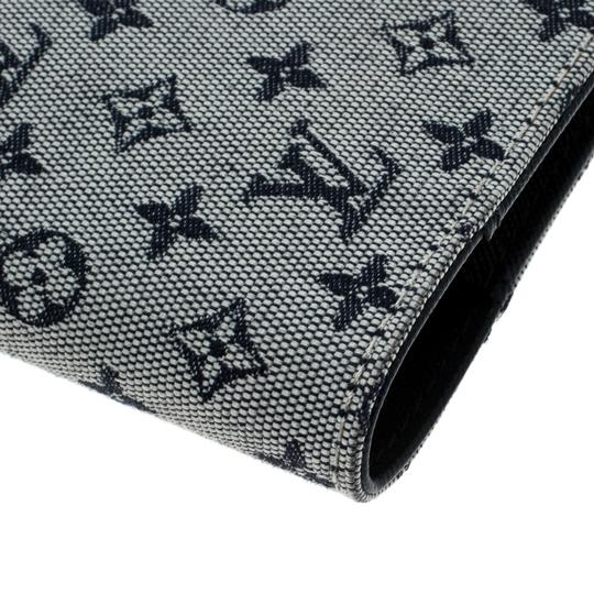 Louis Vuitton Grey Monogram Canvas Small Ring Agenda Cover Image 7