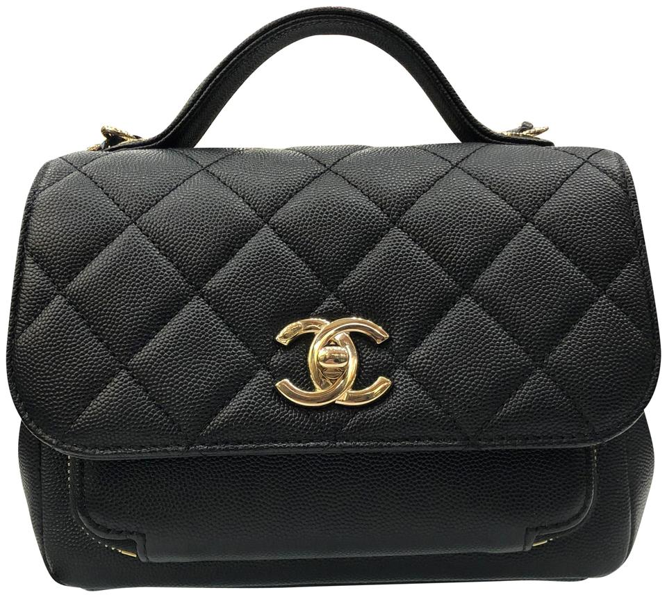 34e8ccd7d9ea23 Chanel Flap with Top Handle Business Affinity Vanity Small Mini Gold ...