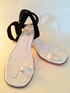 Charlotte Stone Ankle Strap Comfortable Summer Minimalist Elegant black and white Sandals