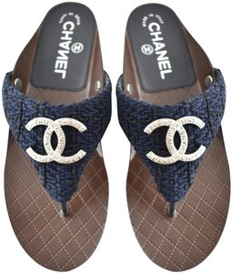 d460513d1 Chanel Sandals on Sale - Up to 70% off at Tradesy (Page 4)