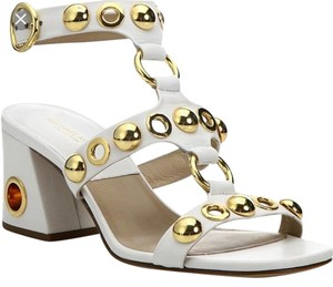 Michael Kors Collection white/gold Sandals