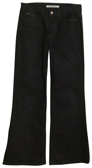 Item - Dark Rinse Muse Trouser/Wide Leg Jeans Size 27 (4, S)