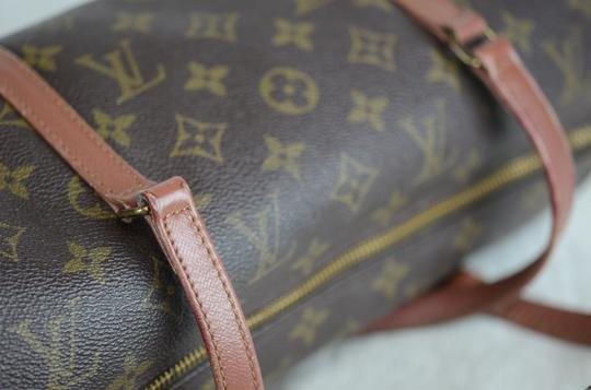 Louis Vuitton Papillon Old Model Monogram Tote in Brown Image 10