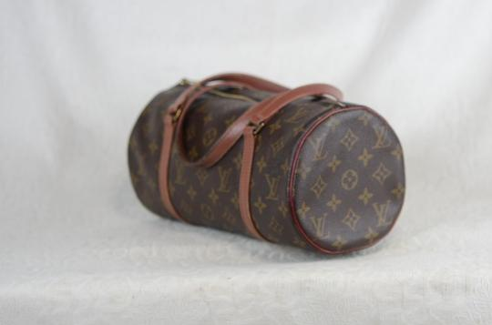 Louis Vuitton Papillon Old Model Monogram Tote in Brown Image 2