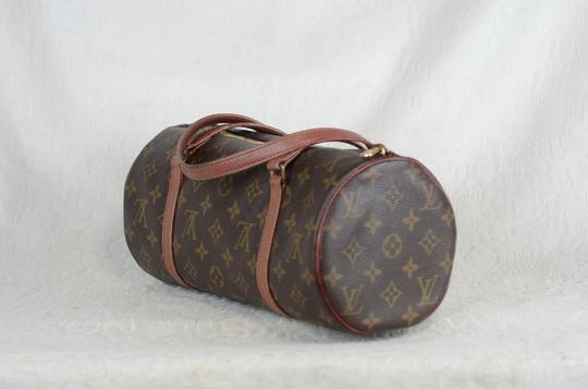 Louis Vuitton Papillon Old Model Monogram Tote in Brown Image 3