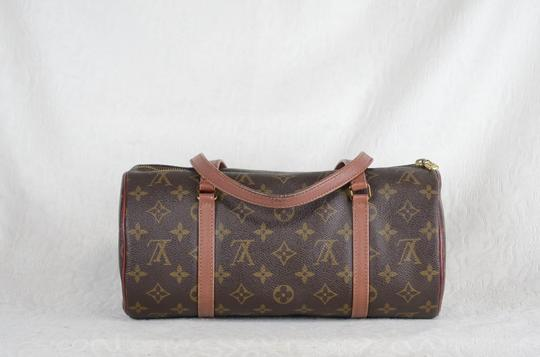 Louis Vuitton Papillon Old Model Monogram Tote in Brown Image 5