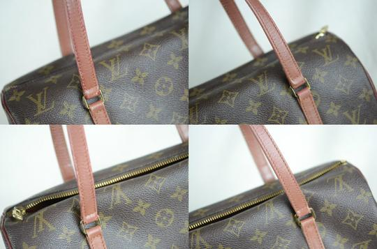 Louis Vuitton Papillon Old Model Monogram Tote in Brown Image 7