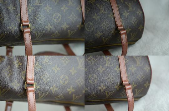 Louis Vuitton Papillon Old Model Monogram Tote in Brown Image 8