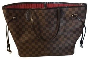 Louis Vuitton Tote in Brown and red