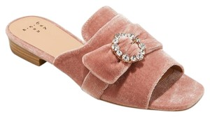 121abead678f A New Day Sandals Slides Blush Mules. A New Day Blush Women s Dina Velvet  Embellished ...
