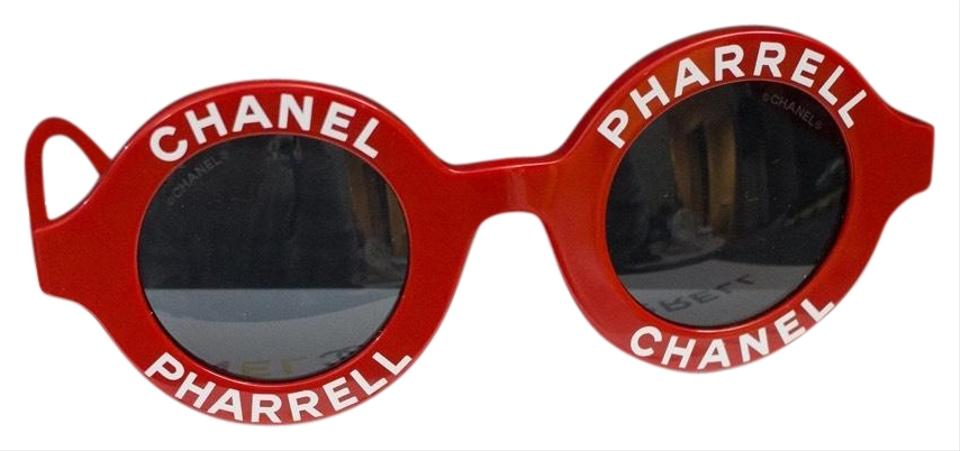 80173e6dc0614 Chanel Chanel X Pharrell Williams Red Sunglasses Image 0 ...