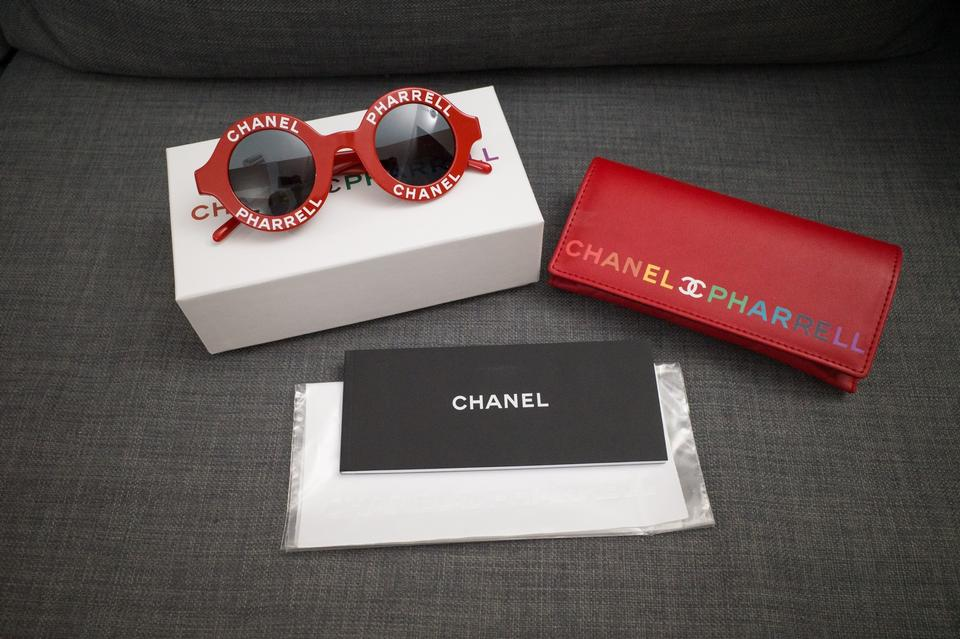 bb9d729e2167b Chanel Chanel X Pharrell Williams Red Sunglasses Image 5. 123456
