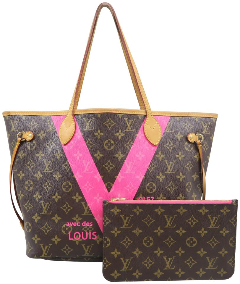 a81bb8fdaa1e Louis Vuitton Neverfull Mm Limited Edition Monogram Shoulder Bag Image 0 ...