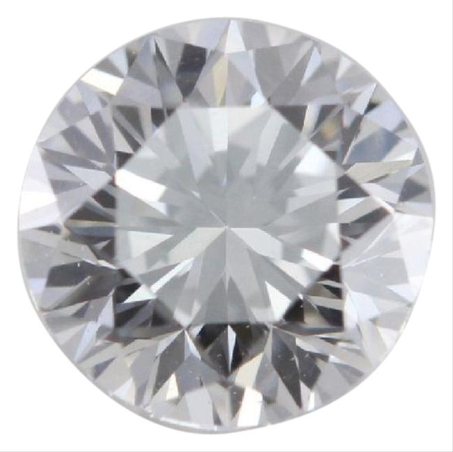 Item - White Round Loose Diamond 0.7 Ct E Color Vvs2 Clarity Gia C674