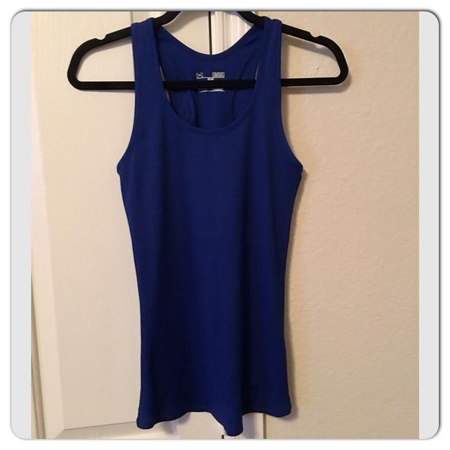 Item - Royal Blue Fitted Heatgear Activewear Top Size 8 (M)