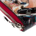 Christian Louboutin Multicolor Trash Print Patent Leather Panettone Spiked Zipper Coin Pur Image 6