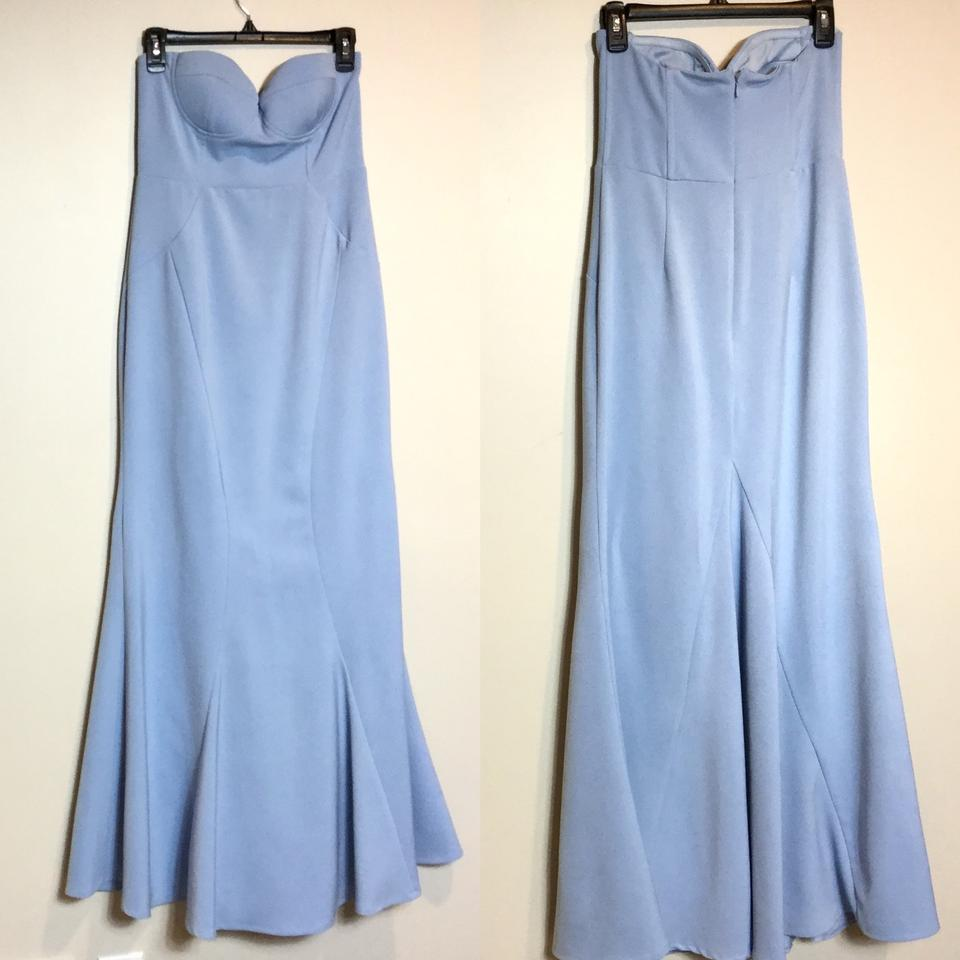 00243541e94c Lulu*s Blue Ladylove Light Strapless Maxi Long Formal Dress Size 12 ...