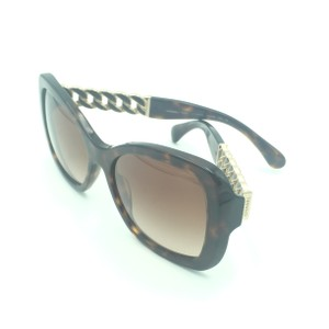 b4608407ef Chanel Chanel Dark Brown Gold Tortoise Butterfly Sunglasses 5305 714 S5