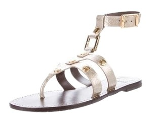 Tory Burch silver and gold Sandals
