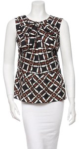 Marni Top Black, Brown, White
