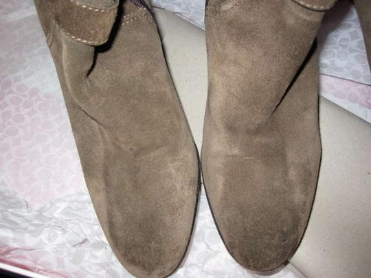 Coach Pre-owned Robynn Knee High Knee-high Flint Boots