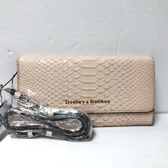 Dooney & Bourke Caldwell Bcald0325 Clutch Python Snake Cross Body Bag Image 1