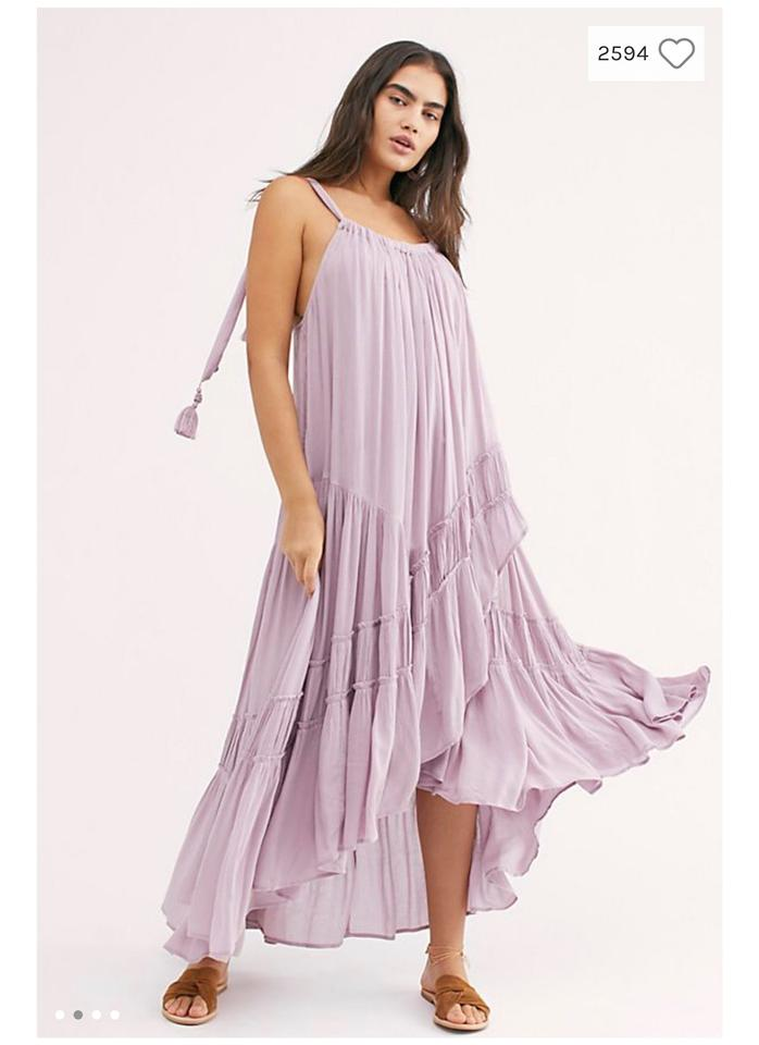 9e177b694 Free People Green Bare It All Long Casual Maxi Dress Size 6 (S ...