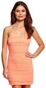 Wow Couture short dress Coral on Tradesy