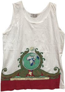 Byblos Vintage T Shirt White with print logo