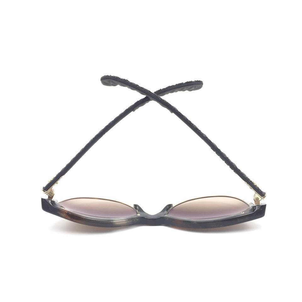 162bf07d009 Chanel Chanel Cat Eye Pantos Quilted Brown Gradient 5342 1554 S5 Sunglasses  Image 9. 12345678910