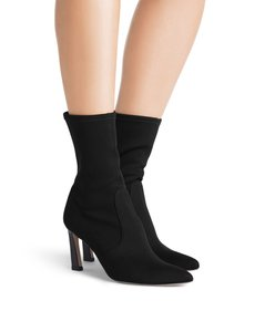 Stuart Weitzman Sock Stretch Black Boots