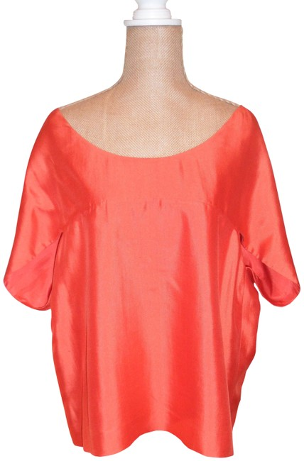 Item - Fabulous Silk Perfect Orange Silk Lining Perfect For All Coral Top