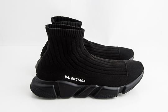 Balenciaga Black Speed Trainers Shoes Image 3