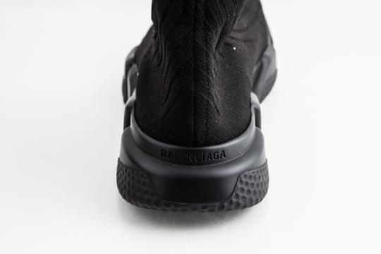 Balenciaga Black Speed Trainers Shoes Image 9