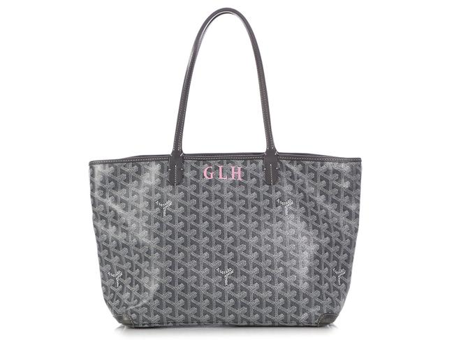 Item - Artois Pm Gray Coated Canvas Tote