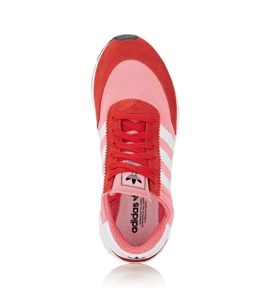 607b6b8082a adidas Red Pink White I-5923 Sneakers Size US 5 Regular (M