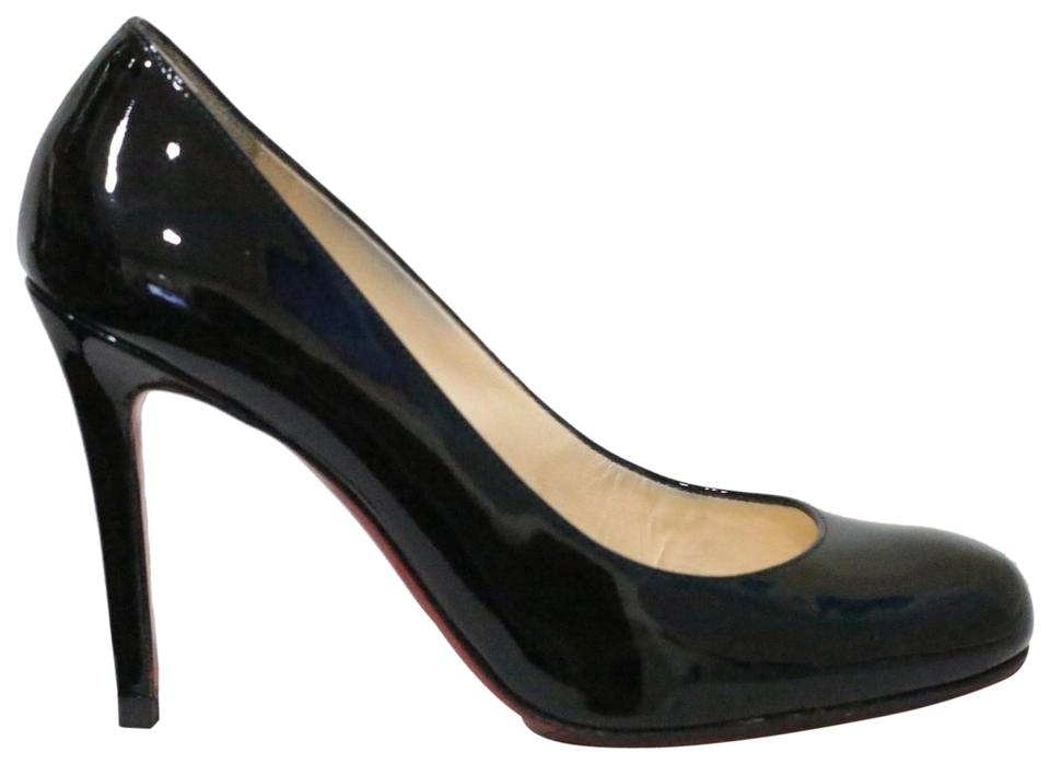 9f6aaac00fe Christian Louboutin Black Lady Lynch 100 Patent Leather Pumps Size EU 35.5  (Approx. US 5.5) Regular (M, B) 42% off retail