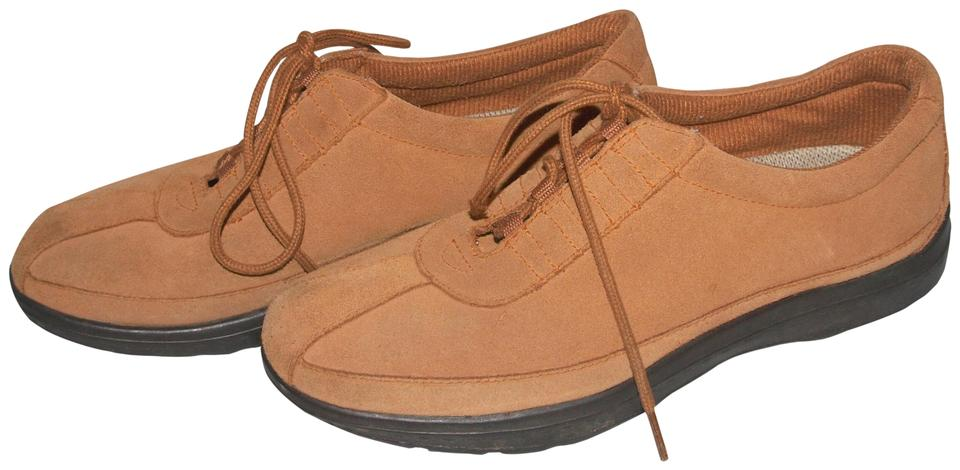 fda7a89b156a Easy Spirit Brown Real Suede Walking Sneakers Size US 7 Regular (M ...