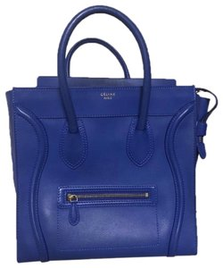Céline Tote in blue